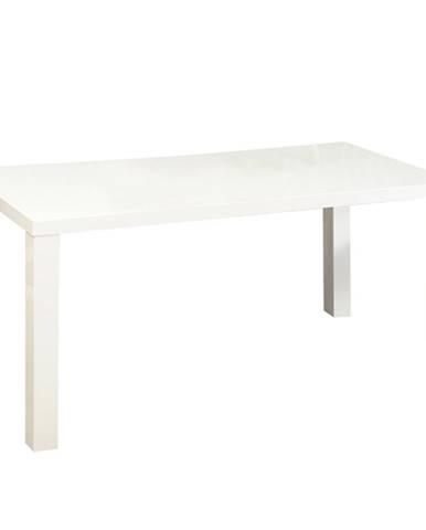 Jedálenský stôl biela vysoký lesk HG ASPER  NEW TYP 2