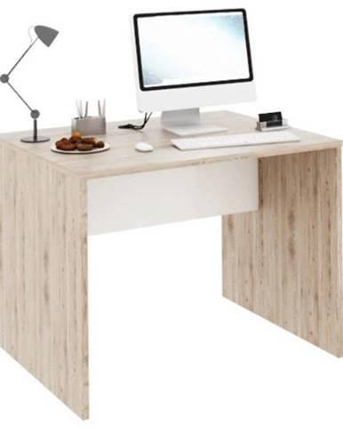PC stôl san remo/biela RIOMA TYP 12