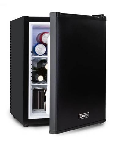 Klarstein Happy Hour 37, mini bar, 37L, 5-15°C, tichý, 0dB, LED-svetlo, čierny