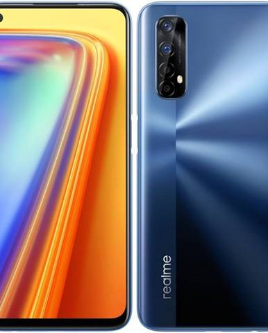 Mobilný telefón realme 7 128 GB modrý
