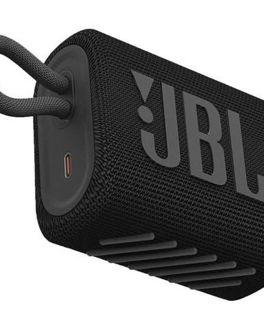 Prenosný reproduktor JBL GO3 čierny
