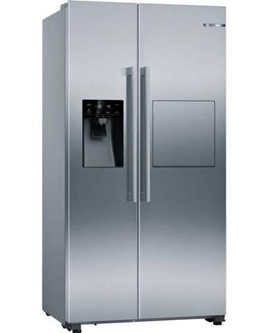 Americká chladnička Bosch Serie | 6 Kag93aiep nerez