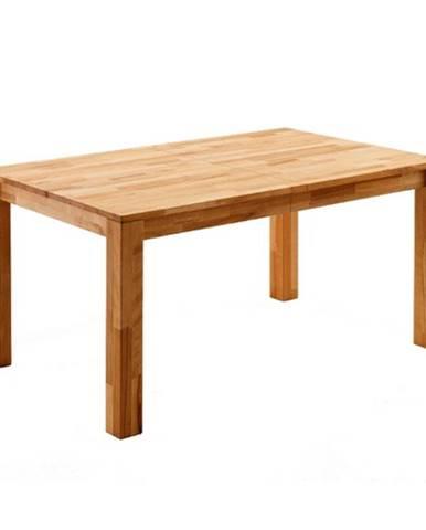 Jedálenský stôl PAUL dub divoký, 140 cm, rozkladací