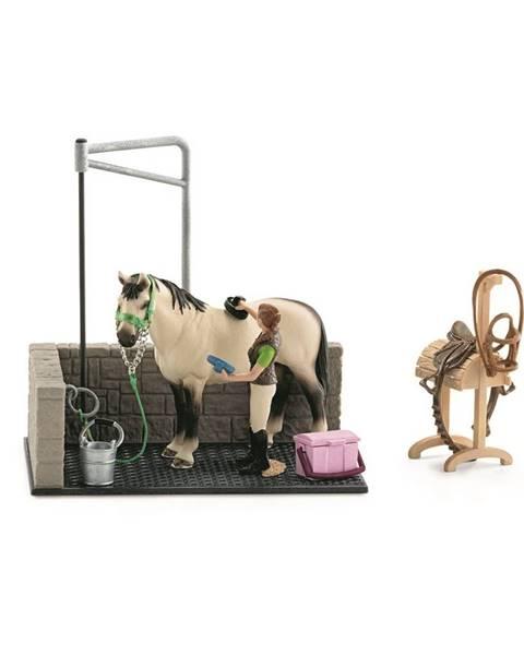 Schleich Schleich 42104 Umývací box pre kone s doplnkami