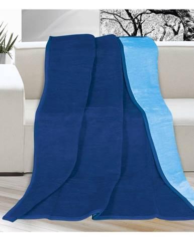 Bellatex Deka Kira modrá/svetlo modrá, 150 x 200 cm
