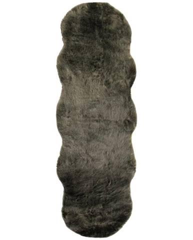 Umelá Kožušina Chrisi 2, 55/160cm, Sivohnedá