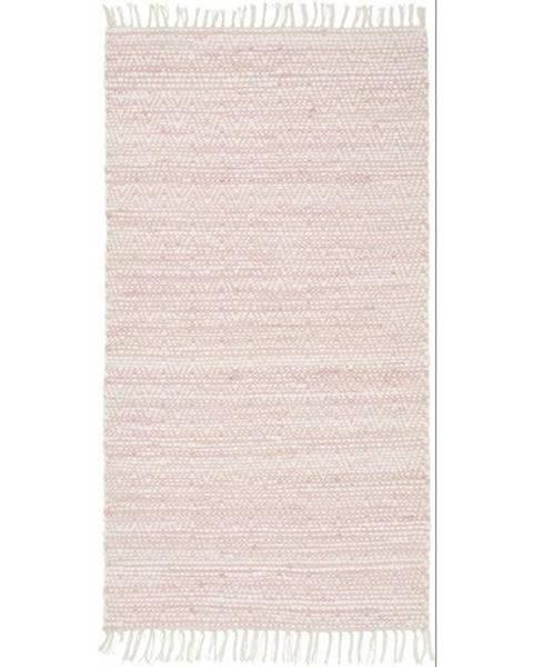 Möbelix Ručné Tkaný Koberec Mary 2, 80/150cm, Ružová