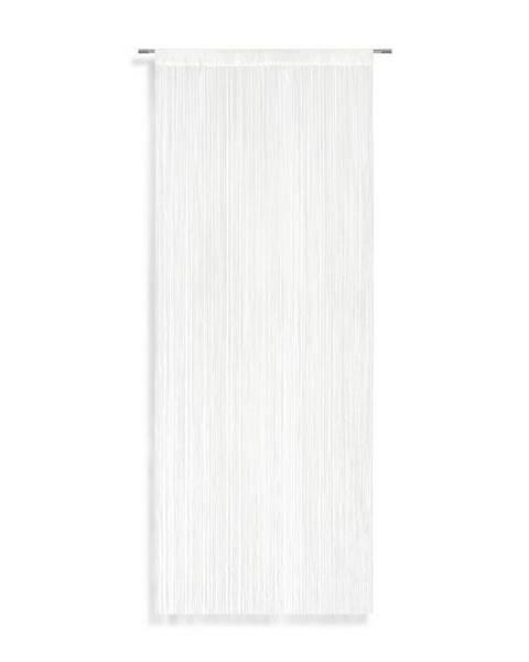 Möbelix Nitkový Záves String, 90/245 Cm, Biela