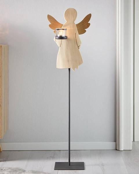 Möbelix Svietnik Anjel Lilli Masívne Drevo Výška 88cm