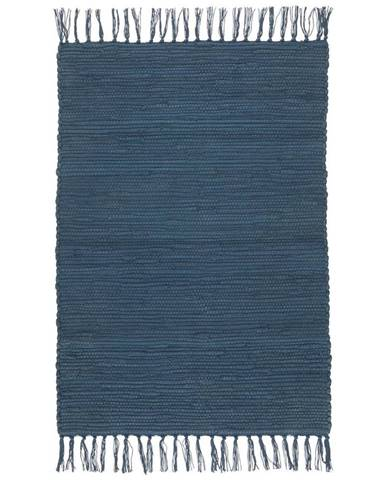 Plátaný Koberec Julia 1, 60/90cm, Tm. Modrá