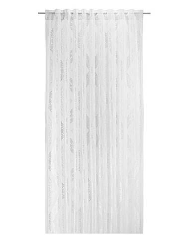 Záves S Pútkami Ornela, 140/245cm, Biela