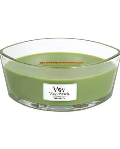 Sviečka s vôňou ihličia Woodwick, 30 hodín horenia