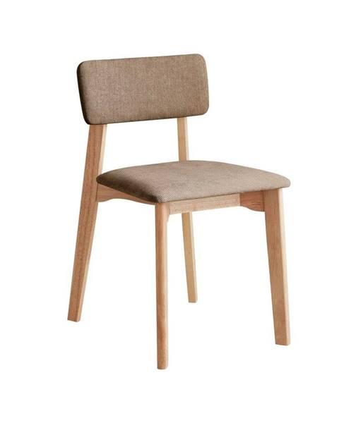DEEP Furniture Kancelárská stolička s hnedým textilným čalúnením, DEEP Furniture Max