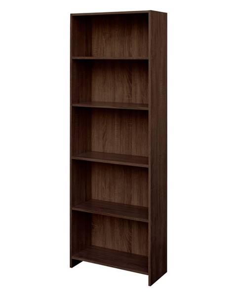 IDEA Nábytok Knižnica BEST dub čokoláda