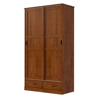Skriňa 2-dverová ONIX hnedá