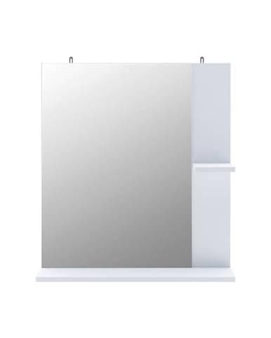 Zrkadlo KORAL biele