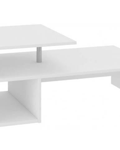 ArtAko Konferenčný stolík Claudia biela