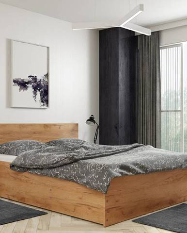 BMS Posteľ PANAMAX 160   matrac + rošt