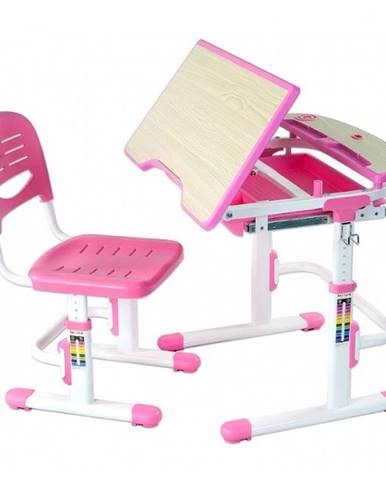 Fundesk Rastúci stôl SORRISO + stolička