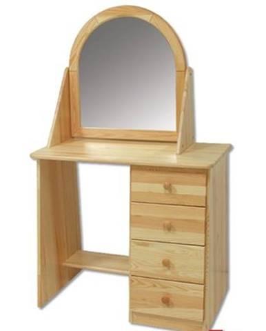 Toaletný stolík so zrkadlom - masív LT108 | borovica