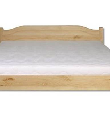 Manželská posteľ - masív LK106   160cm borovica