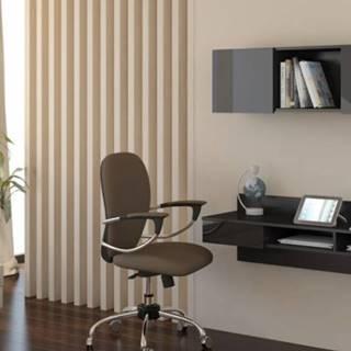 WIP PC stolík visiaci Uno čierny / čierny lesk Uno