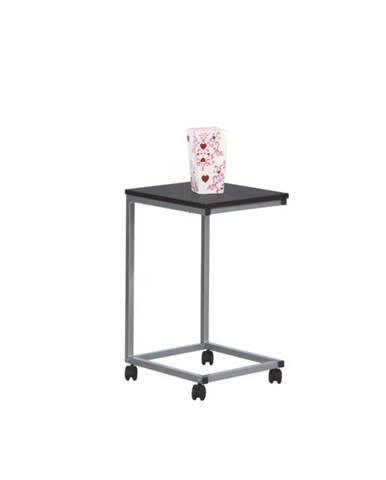 Tempo Kondela Príručný stolík MANNY čierna