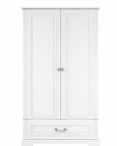 ArtBel Šatníková skriňa Ines 2-dverová