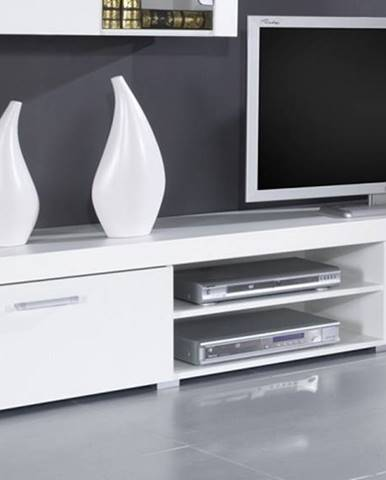Artcam TV stolík Samba reg.8   biely