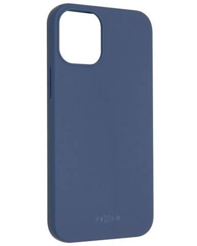 Kryt na mobil Fixed Story na Apple iPhone 12 mini modrý