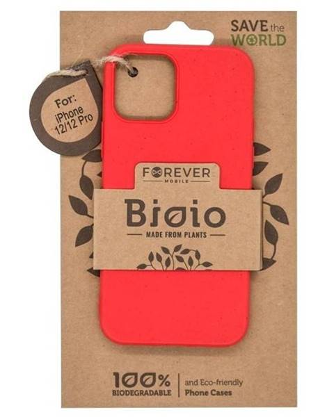 Forever Kryt na mobil Forever Bioio na Apple iPhone 12/12 Pro červený