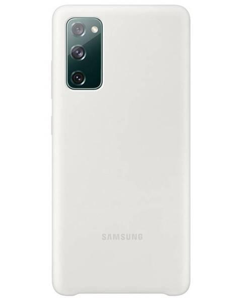 Samsung Kryt na mobil Samsung Silicone Cover na Galaxy S20 FE biely