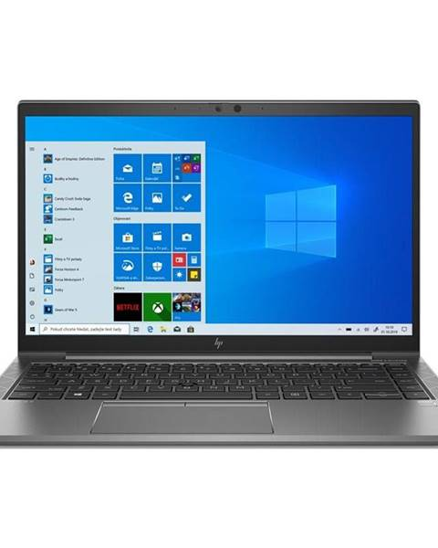 HP Notebook HP Zbook 14 Firefly G7 sivý