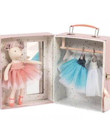 Balerína s garderóbou v kufríku Moulin Roty