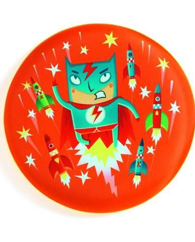 Lietajúci tanier Djeco Superhrdina