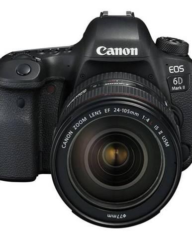 Digitálny fotoaparát Canon EOS 6D Mark II + EF24-105 IS STM čierny