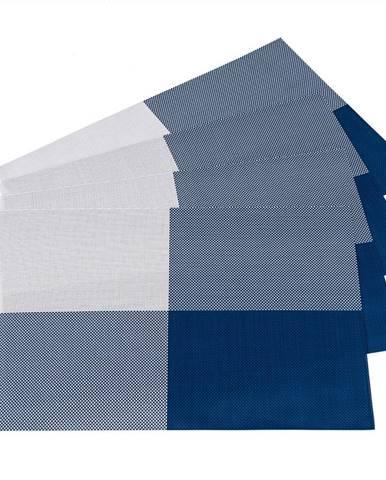 JAHU Prestieranie DeLuxe modrá, 30 x 45 cm, sada 4 ks