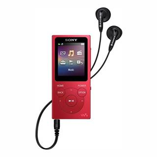 MP3 prehrávač Sony NW-E394R červen