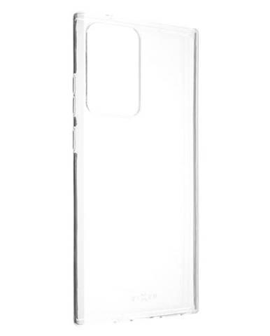 Kryt na mobil Fixed na Samsung Galaxy Note20 Ultra priehľadný
