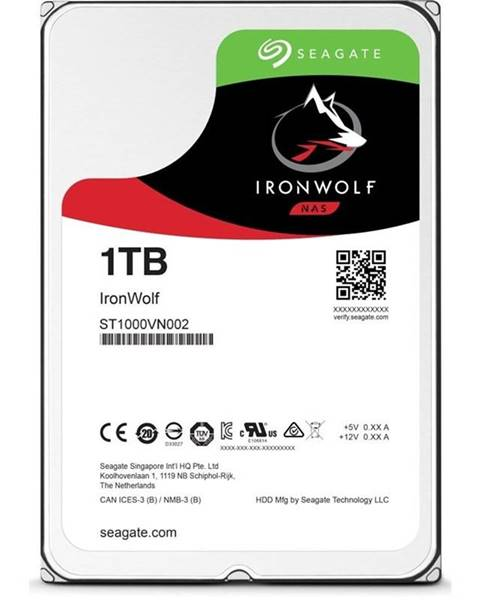 "Seagate Pevný disk 3,5"" Seagate IronWolf 1TB"