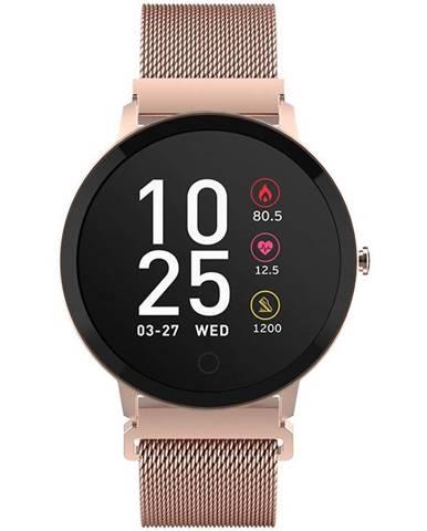 Inteligentné hodinky Forever ForeVigo SB-320 zlatá