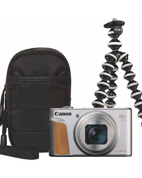 Canon Digitálny fotoaparát Canon PowerShot SX740 HS, Travel KIT