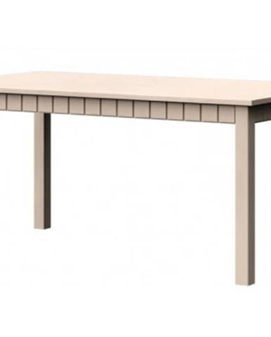 Jedálenský stôl Atik JS 160x90 cm, vanilka patina%