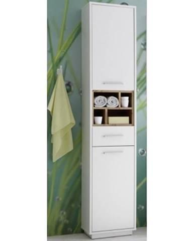 Kúpeľňová vysoká skrinka Milano%