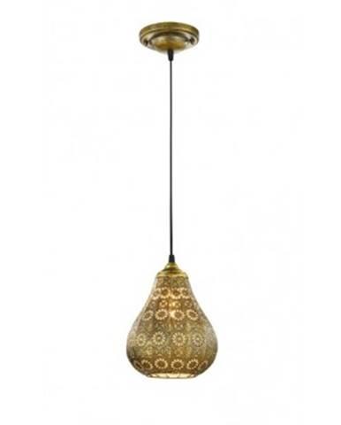 Stropná lampa Jasmin 303700104, mosadzná%