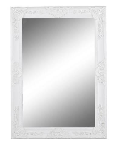 Zrkadlo biely rám MALKIA TYP 9 poškodený tovar