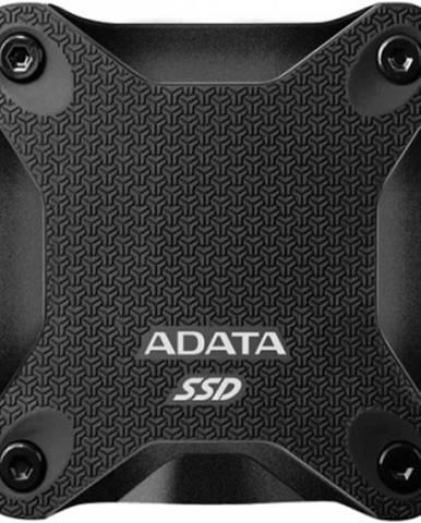 Externý SSD disk ADATA ASD600Q, 480 GB, USB 3.1, čierna