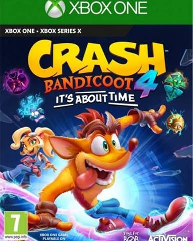 XBOX hra - Crash Bandicoot 4 It´s about time
