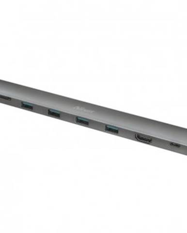 Multiportový adaptér Trust Dalyx 10 v 1, USB-C, HDMI port