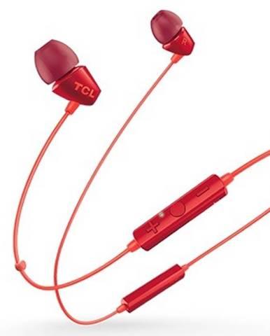 TCL bluetooth slúchadlá do uší, mikrofón, BT 4.2, oranžová